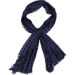 HIGH Reason Blue Cotton-blend Scarf found on MODAPINS from Harvey Nichols for USD $290.32