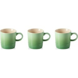 Le Creuset Set Of 3 Stoneware Espresso Mugs Rosemary found on Bargain Bro UK from Harvey Nichols