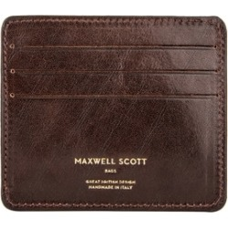 Maxwell Scott Bags Vegetable Tanned Leather Card Holder In Brown found on Bargain Bro UK from Harvey Nichols
