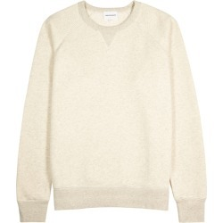 Norse Projects Kristian Ecru Cotton Sweatshirt found on MODAPINS from Harvey Nichols for USD $239.72