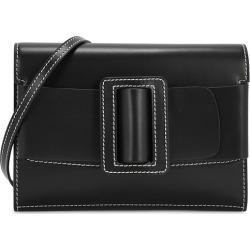 Boyy Buckle Big Stitch Black Leather Cross-body Bag found on MODAPINS from Harvey Nichols for USD $385.13