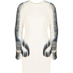 Dion Lee White Cut-out Fringed Mini Dress found on MODAPINS from Harvey Nichols for USD $1418.12