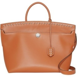 Burberry Studded Leather Society Top Handle Bag found on Bargain Bro UK from Harvey Nichols