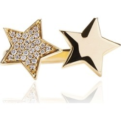Alinka Jewellery Stasia One Star Ring Yellow Gold found on MODAPINS from Harvey Nichols for USD $2855.12