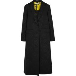 Alice + Olivia Angela Black Jacquard Coat found on Bargain Bro UK from Harvey Nichols