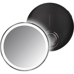 Simplehuman Sensor Mirror Compact - Black Steel found on Makeup Collection from Harvey Nichols for GBP 99.62