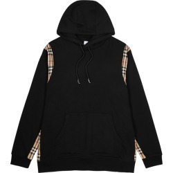 Burberry Black Hooded Cotton Sweatshirt found on MODAPINS from Harvey Nichols for USD $691.78