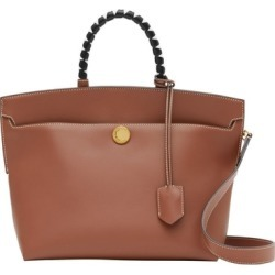 Burberry Small Leather Society Top Handle Bag found on Bargain Bro UK from Harvey Nichols