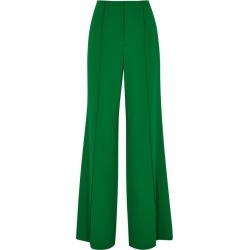Alice + Olivia Dylan Green Wide-leg Trousers found on Bargain Bro UK from Harvey Nichols