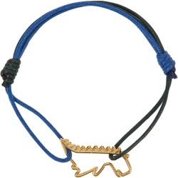 Aliita Dino Puro Two-tone Cord Bracelet found on MODAPINS from Harvey Nichols for USD $136.98