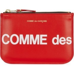 Comme Des Garçons Small Red Leather Pouch found on Bargain Bro UK from Harvey Nichols