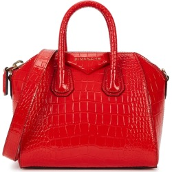 Givenchy Antigona Mini Crocodile-effect Top Handle Bag found on Bargain Bro UK from Harvey Nichols