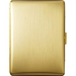 Tsubota Pearl Gold Satin Cosmos Cigarette Case