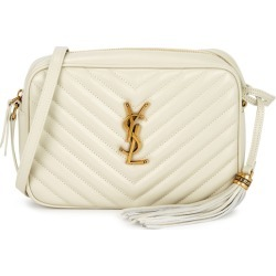 Saint Laurent Lou Ivory Leather Cross-body Bag found on Bargain Bro UK from Harvey Nichols