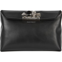 Black embellished leather clutch found on MODAPINS from Harvey Nichols US for USD $1990.00