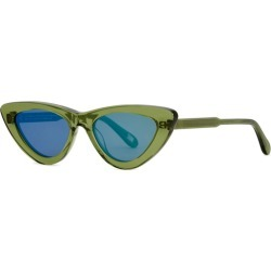Chimi 006 Green Cat-eye Sunglasses found on MODAPINS from Harvey Nichols for USD $109.35