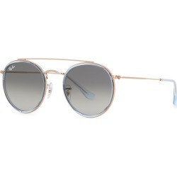 Ray-Ban Rose Gold Tone Round-frame Sunglasses found on Bargain Bro UK from Harvey Nichols