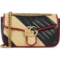 Gucci GG Marmont Small Leather Shoulder Bag found on MODAPINS from Harvey Nichols for USD $2192.83