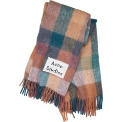 Acne Studios Valley Checked Alpaca-blend Blanket Scarf found on MODAPINS from Harvey Nichols for USD $371.98