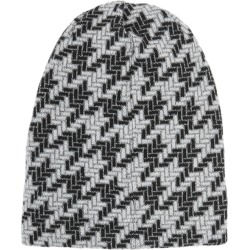 Inverni Giulia Metallic-weave Wool-blend Beanie found on MODAPINS from Harvey Nichols for USD $192.55