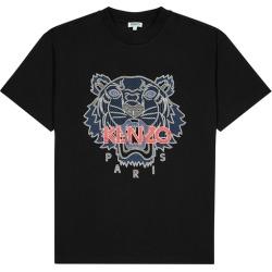 Kenzo Icon Black Tiger-print Cotton T-shirt found on Bargain Bro UK from Harvey Nichols