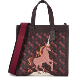 Coach Medium Black Printed Top Handle Bag found on Bargain Bro UK from Harvey Nichols