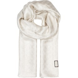 Gucci GG Metallic Silk-blend Scarf found on MODAPINS from Harvey Nichols for USD $496.78