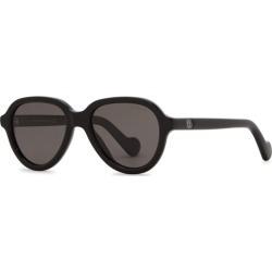 Moncler ML0043 Black Polarised Sunglasses found on Bargain Bro UK from Harvey Nichols