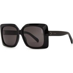 CELINE Eyewear Black Square-frame Sunglasses found on Bargain Bro UK from Harvey Nichols