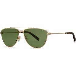 Givenchy Green D-frame Sunglasses found on MODAPINS from Harvey Nichols for USD $292.68