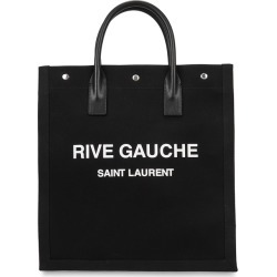 Saint Laurent Rive Gauche Printed Canvas Tote found on Bargain Bro UK from Harvey Nichols