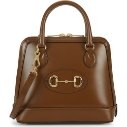 Gucci 1955 Horsebit Brown Leather Top Handle Bag found on Bargain Bro UK from Harvey Nichols