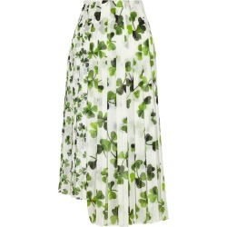 Loewe Printed Pleated Chiffon Midi Skirt found on MODAPINS from Harvey Nichols for USD $1872.89