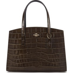 Coach Charlie Crocodile-effect Leather Top Handle Bag found on Bargain Bro UK from Harvey Nichols