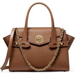 MICHAEL Michael Kors Carmen Small Saffiano Leather Belted Satchel found on Bargain Bro UK from Harvey Nichols