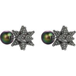 Atelier Swarovski Chrysolite Kalix Stud Earrings found on MODAPINS from Harvey Nichols for USD $256.52
