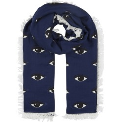 Kenzo Eye-print Modal And Silk-blend Scarf found on MODAPINS from Harvey Nichols for USD $232.26