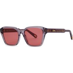 Chloé Grey Oval-frame Sunglasses found on Bargain Bro UK from Harvey Nichols