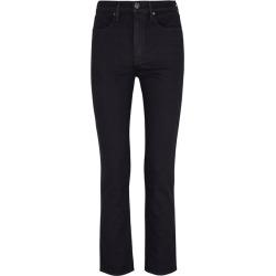 Rag & Bone Black High-rise Straight-leg Jeans found on MODAPINS from Harvey Nichols for USD $278.75