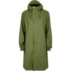 Rains Fishtail Green Rubberised Raincoat found on MODAPINS from Harvey Nichols for USD $160.96