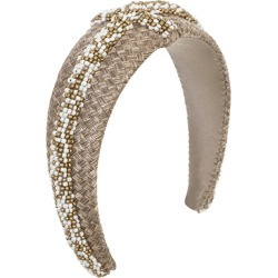 EMILY - LONDON Lismore Woven Headband found on MODAPINS from Harvey Nichols for USD $461.87