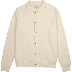 Oliver Spencer Rundell Ecru Knitted Cotton Jacket found on MODAPINS from Harvey Nichols for USD $225.62