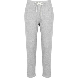 Duffy Light Grey Cashmere-blend Sweatpants found on MODAPINS from Harvey Nichols for USD $352.62