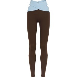 Orion two-tone stretch-jersey leggings found on MODAPINS from Harvey Nichols US for USD $140.00