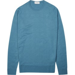 John Smedley Lundy Blue Wool Jumper found on MODAPINS from Harvey Nichols for USD $213.12