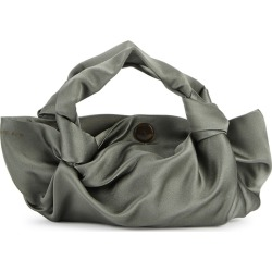 THE ROW Ascot Two Sage Satin Top Handle Bag found on Bargain Bro UK from Harvey Nichols