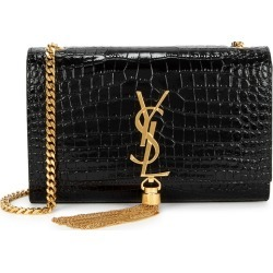 Saint Laurent Kate Small Crocodile-effect Leather Shoulder Bag found on Bargain Bro UK from Harvey Nichols