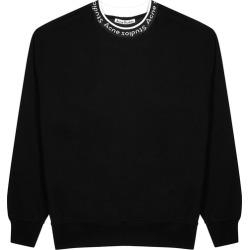 Acne Studios Fulton Black Jersey Sweatshirt found on MODAPINS from Harvey Nichols for USD $328.38