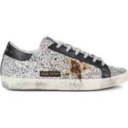 Golden Goose Deluxe Brand Superstar Glittered Leather Sneakers found on Bargain Bro UK from Harvey Nichols