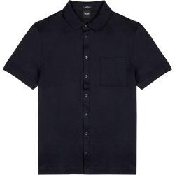 BOSS Puno Navy Cotton Shirt found on Bargain Bro UK from Harvey Nichols